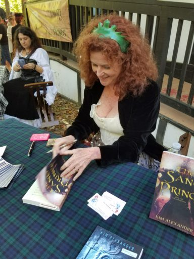 That's me AND Rachel signing books at last year's MDRF!