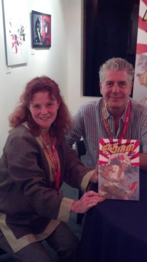 Anthony Bourdain and his graphic novel Get Jiro